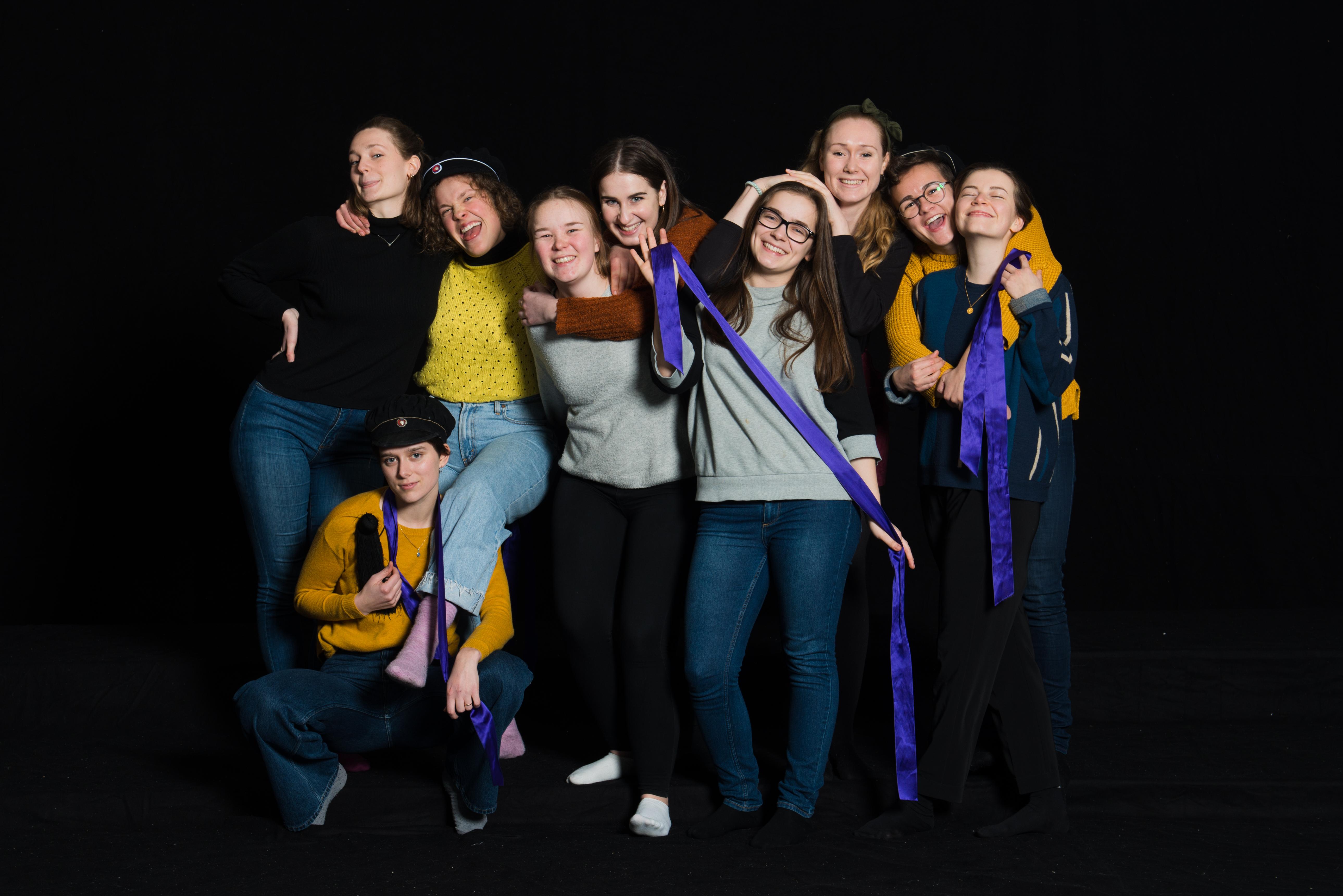 Trondhjems Kvinnelige Studentersangforening i 2019!